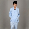 men long sleeve white ( coat + pant )